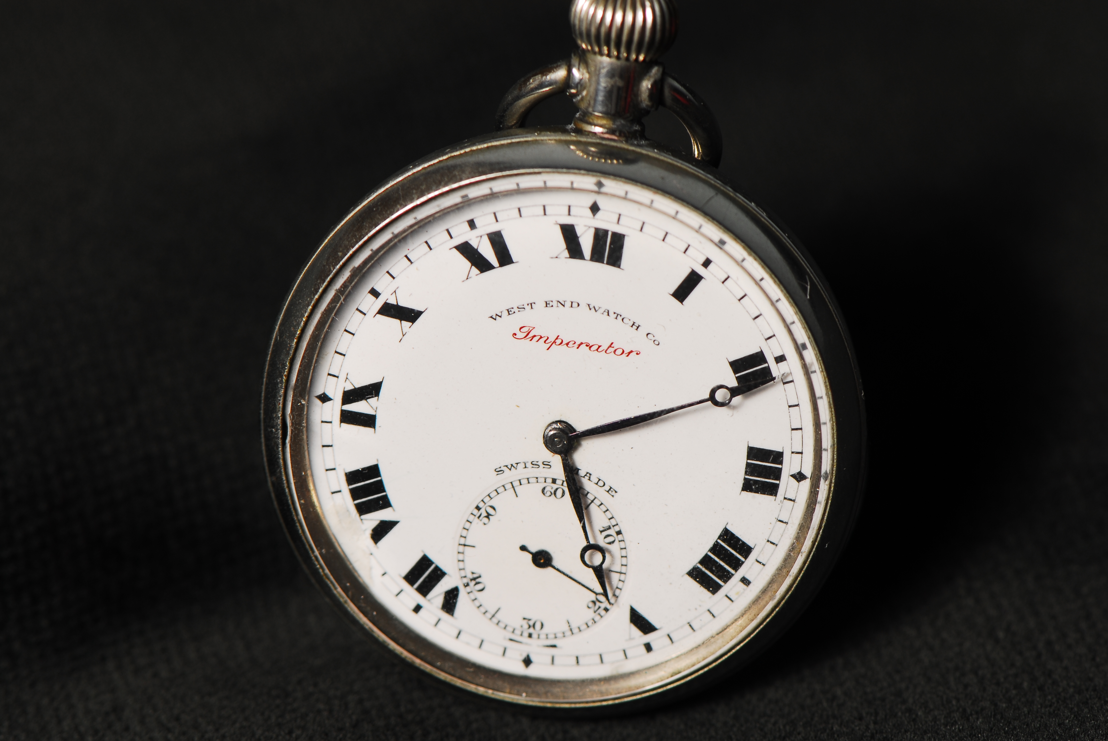 Identification pocket watch movement How to